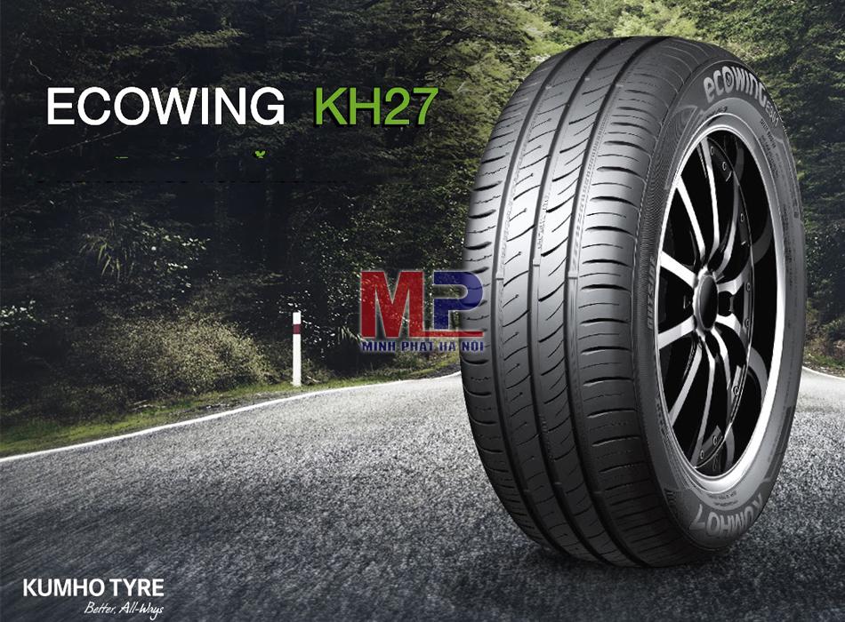 Đánh giá lốp Kumho Ecowing KH27 165/65R14 cho Huyndai Grand i10