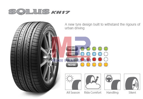 Thiết kế Solus KH17 nổi bật