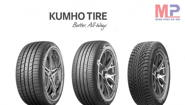 Chất lượng sản phẩm lốp xe Kumho luôn được đánh giá cao