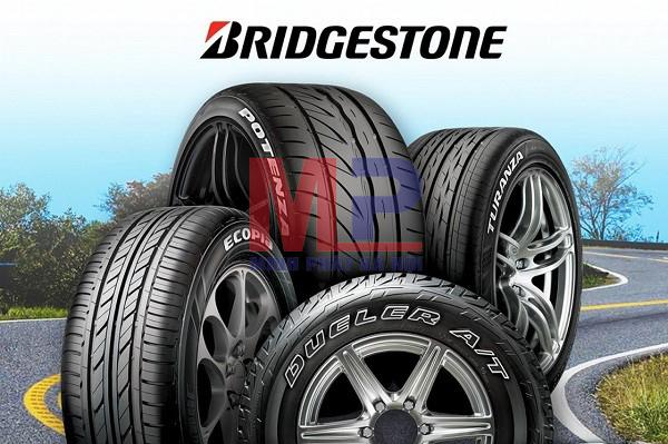 Lốp ô tô Bridgestone đảm bảo an toàn cho người sử dụng