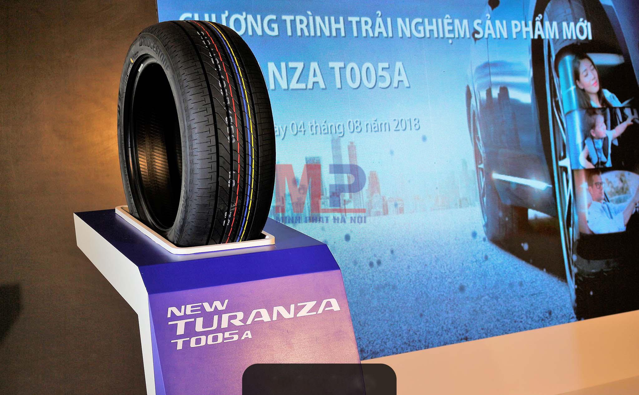 Lốp xe Bridgestone Turanza T005a có thực sự êm như lời đồn.