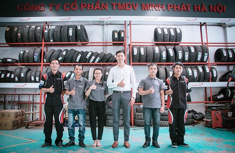 Lốp xe Kumho - Minh Phát Hà Nội - Uy tín chất lượng