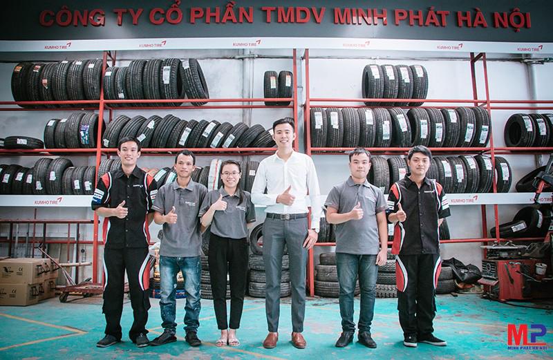 Minh Phát Hà Nội - Địa chỉ cung cấp lốp Bridgestone chính hãng tốt nhất hiện nay