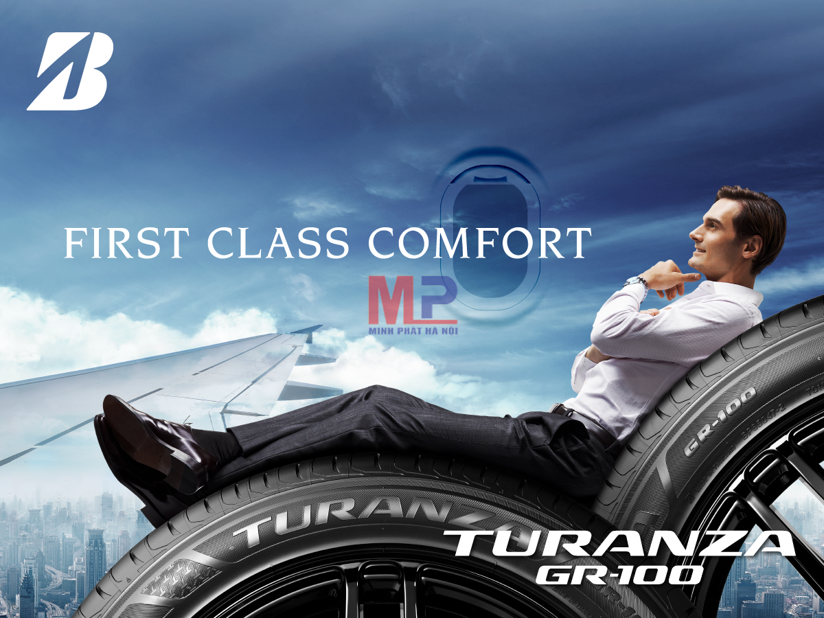 Bridgestone Turanza Gr100 – loại lốp êm ái số một thế giới