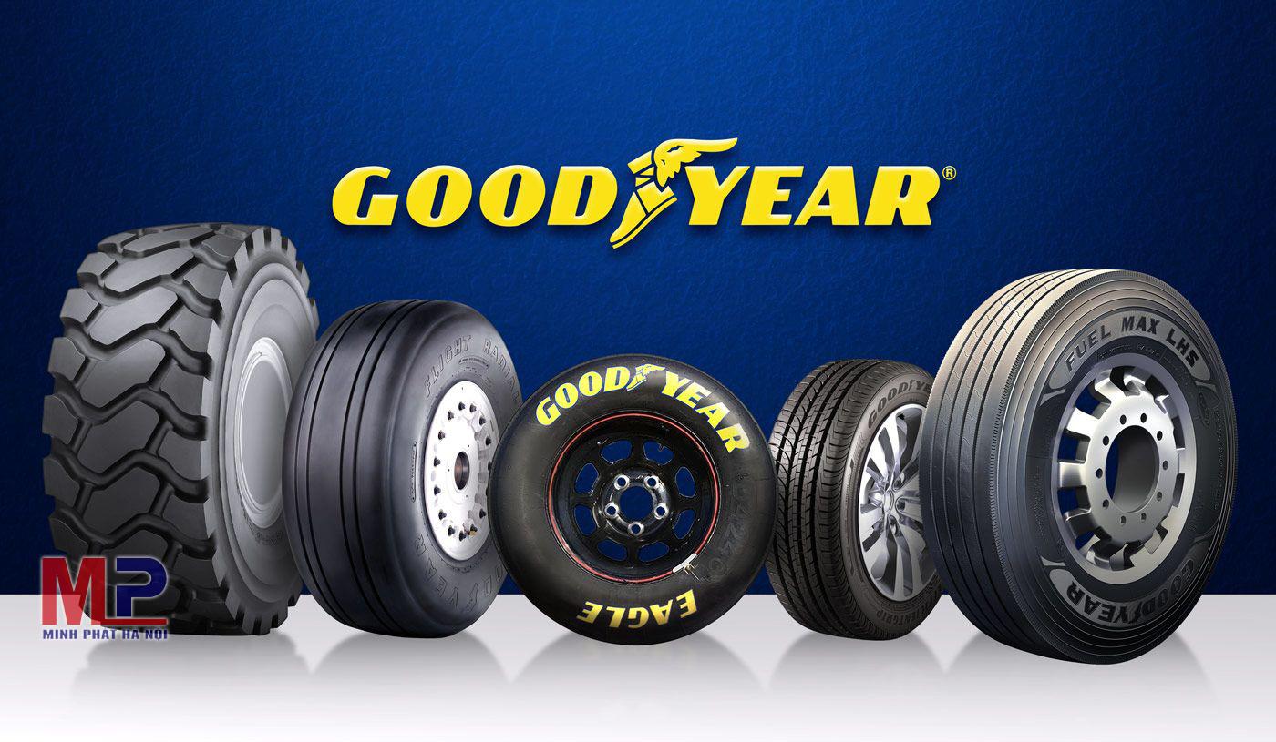 Goodyear là thương hiệu nổi tiếng và khá quen thuộc ở Việt Nam