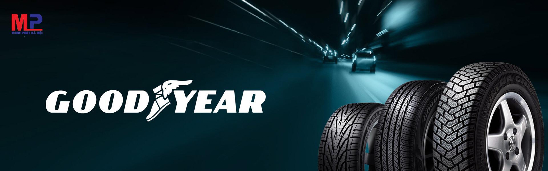 Lốp Goodyear có nhiều mẫu mã đa dạng cho người sử dụng