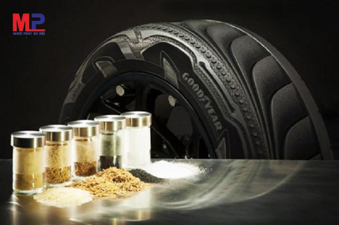 Lốp xe Goodyear sử dụng tro trấu làm nguyên liệu