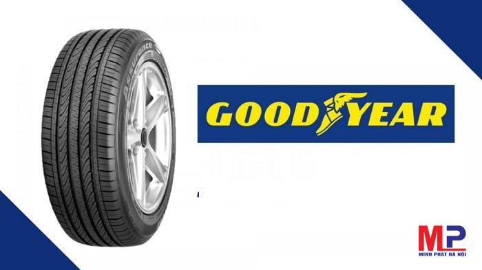Thay lốp xe Goodyear chính hãng tại đại lý phân phối