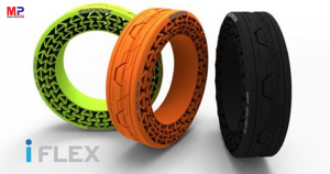 Hankook ra mắt lốp iFlex với công nghệ không cần bơm hơi