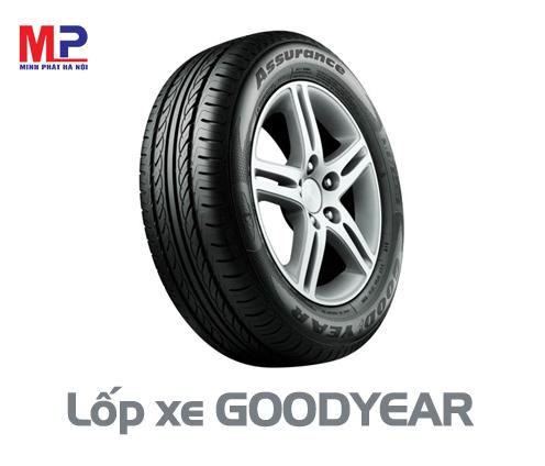 Lốp xe Goodyear thương hiệu của Mỹ