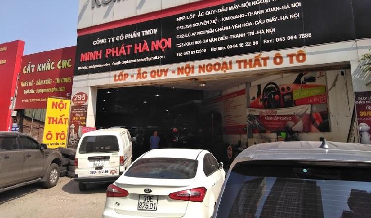 Cơ sở Minh Phát Hà Nội tại 295 Nguyễn Xiển, Thanh Xuân Hà Nội