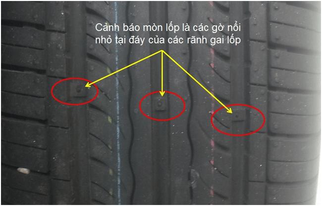 Dấu hiện nhận biết khi cần thay mới lốp xe ô tô