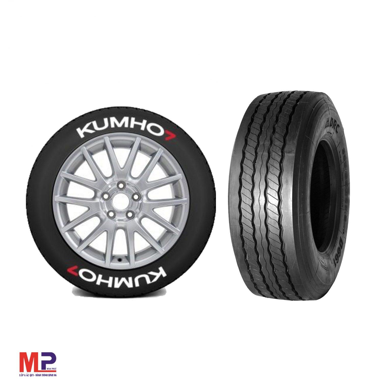 So sánh lốp drc với lốp Kumho? Mẫu lốp xe tải nào tốt hơn