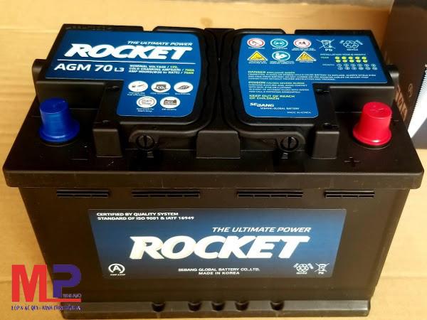 Bình ắc quy Rocket 70ah phù hợp với những dòng xe nào ?