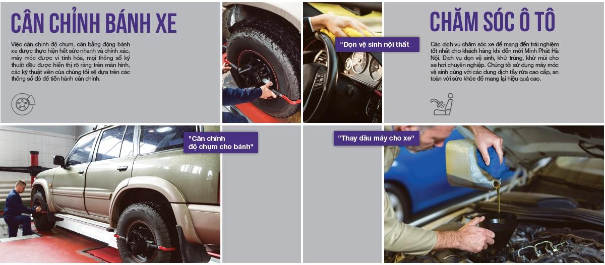 Cân chỉnh bánh xe ô tô hiệu quả