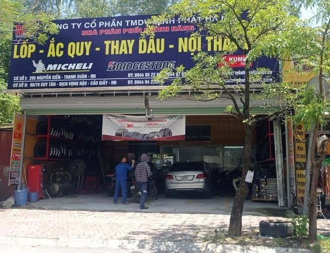 Cơ sở Minh Phát Hà Nội tại 88/78 Duy Tân, Cấu Giấy, Hà Nội.