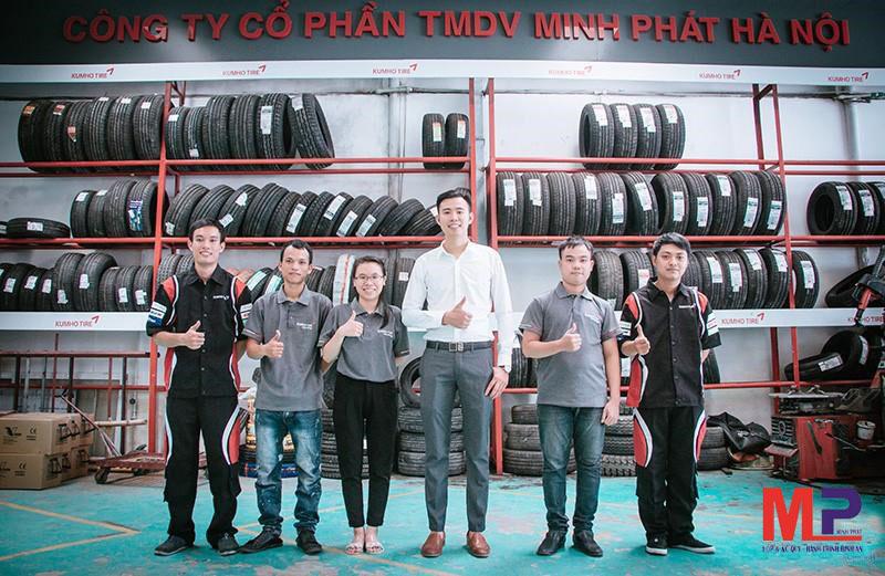 Minh Phát Hà Nội - Địa chỉ thay lốp xe uy tín chất lượng